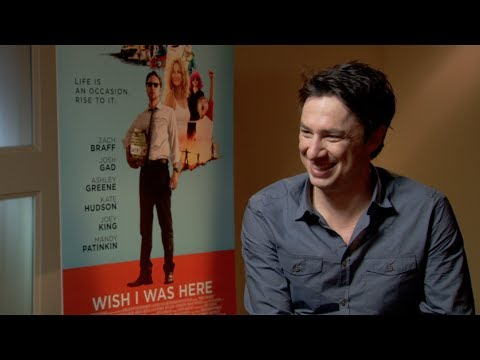 Zach Braff Interview: WISH I WAS HERE