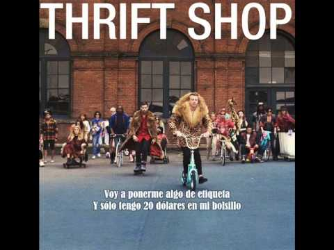 Macklemore And Ryan Lewis Ft. Wanz - Thrift Shop (sub. Español) video