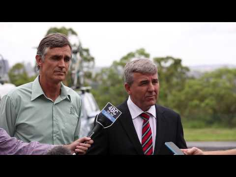 Paul Turner & Ben Wilson   RACQ & Bicycle Queensland