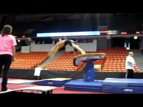 Amelia Hundley - Vault - 2012 Secret U.S. Classic Podium Training