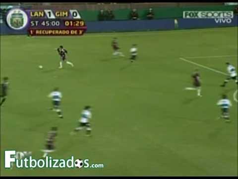 Lanús 2 - Gimnasia 0. Torneo Apertura 2009.