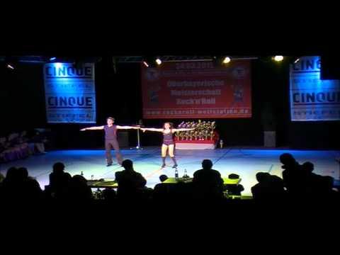 Anja Leinfelder & Philipp Lage - Oberbayerische Meisterschaft 2012