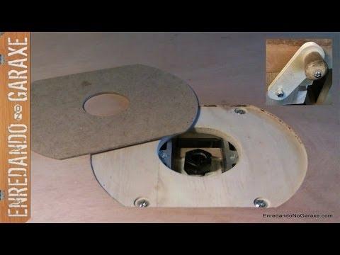 Como hacer una mesa fresadora how to make a router table for Mesa para fresadora