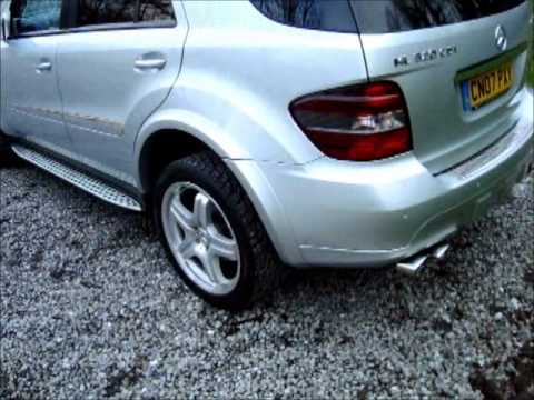 2007 mercedes ml320 cdi sport auto full amg styling and. Black Bedroom Furniture Sets. Home Design Ideas