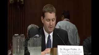 Warmists Stunned by Roger Pielke in Senate Testimony on Climate Change