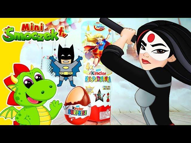 Batman Super Hero Girls Katana Bajka Jajka Niespodzianki Zabawki Bajki Filmik Po Polsku Dla Dzieci