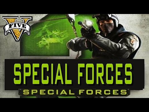 GTA 5 PC POLICE Special Forces Assassin vs all US Army LA Military Base