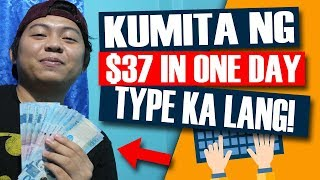 Paano kumita online $37 in ONE DAY! (TYPE(2x) KA LANG!)