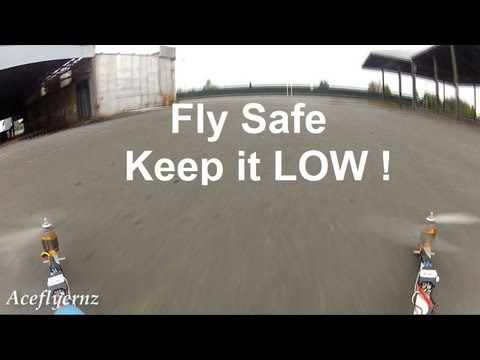 Low Flying FPV Quadcopter