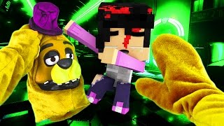 Realistic Minecraft - BECOMING FNAF FREDBEAR IN REAL LIFE!