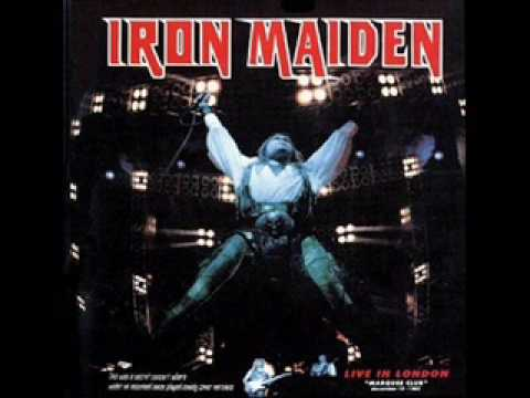 Iron maiden -Tush- Live marquee club 1985