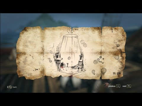 Assassins creed 4 Black flag treasure map Ambergis Key 55.178 (13/22)