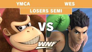WNF 2.7 YMCA (Donkey Kong) vs Wes (Little Mac) - Losers Semis - Smash Ultimate