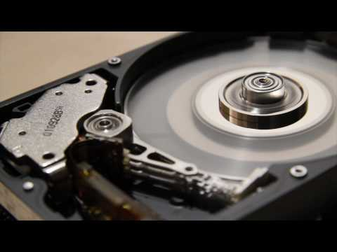 How to destroy a hard drive