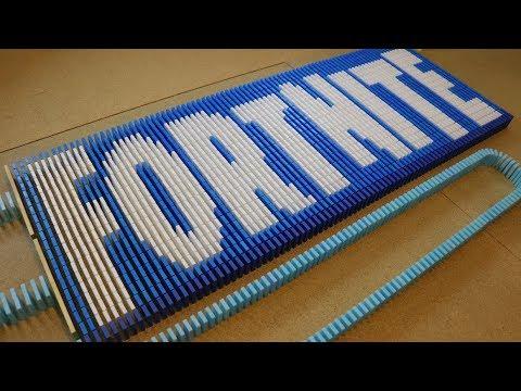 FORTNITE BATTLE ROYALE IN 10,000 DOMINOES!