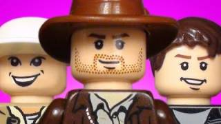 Lego Videos - Lego Indiana Jones - The DNA Results - 720p HD