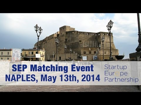 SEP Matching Event - Naples, May 13, 2014