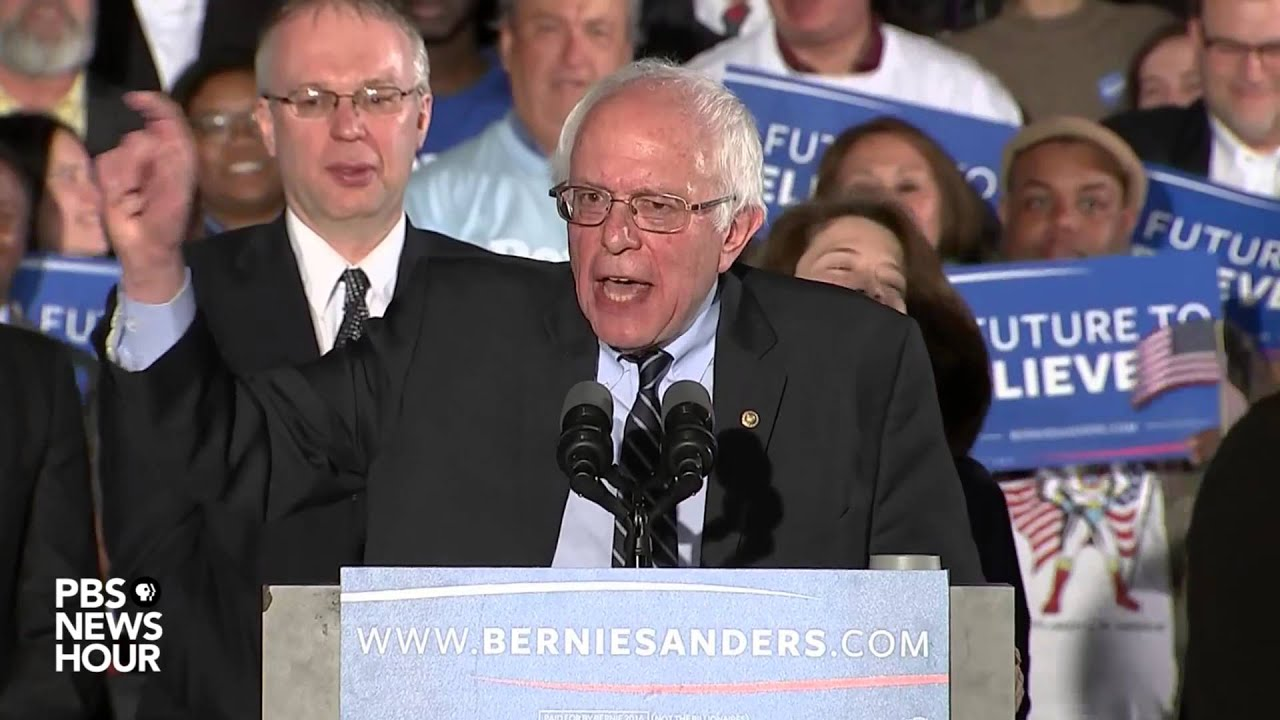 After close loss in Iowa, Bernie Sanders handily wins New Hampshire