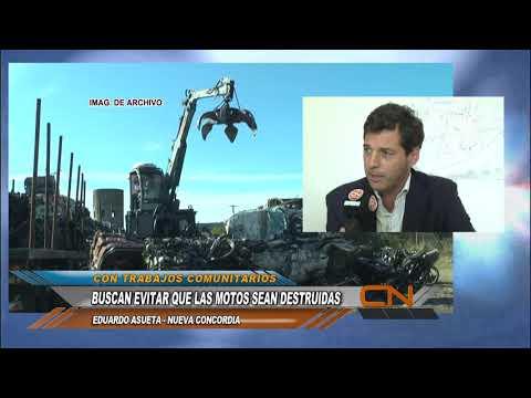 Eduardo Asueta propone una solución constructiva para evitar la destrucción de las motos