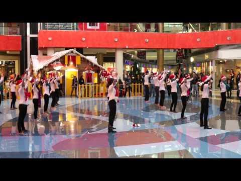 Inditex flash mob dance in Tbilisi Mall