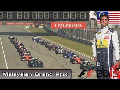 F1 2015 - Championship Mode - Round 2: Malaysian Grand Prix