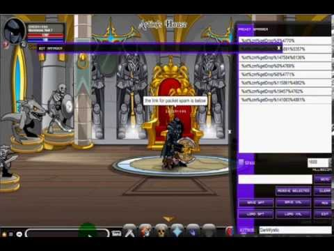 =aqw= bot elemental storm [dark mystic] packets spams