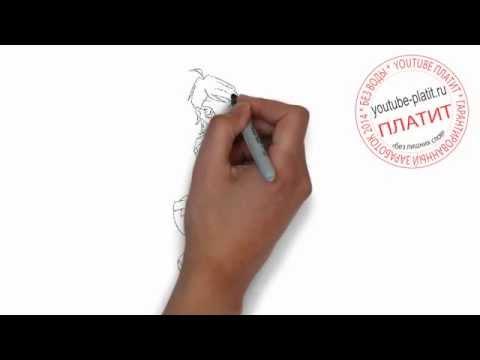 Видео как нарисовать Винкс Блум Сиреникс карандашом поэтапно