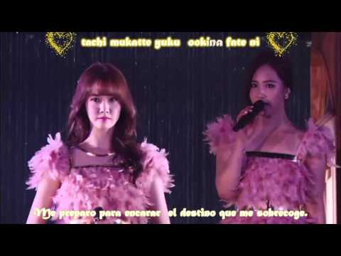 Girls Generation  Divine Tokyo Dome   Live Sub Español
