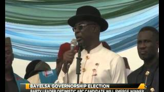 BAYELSA GOVERNORSHIP ELECTION: APC SAYS ITS CANDIDATE WILL WIN