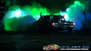 BURNOUTS UNLEASHED HIGHLIGHTS QUEENSLAND RACEWAY 23.8.2014