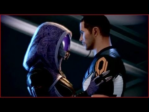 Mass Effect 2 - Tali Romance, All Scenes [HD]