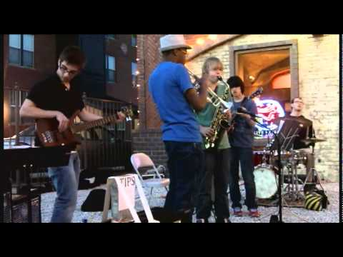 Lance Ponder age 15&Versailles play Funk it Out at Rock Island Studios