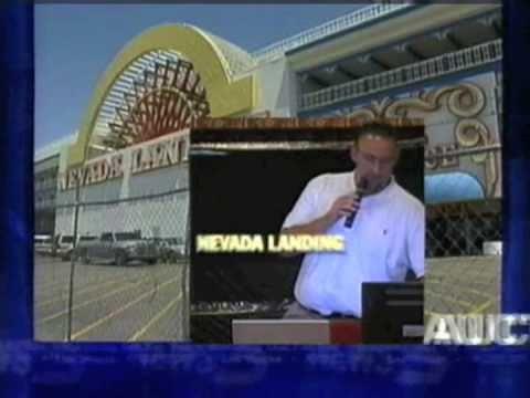 Global Webcast Auction - Nevada Landing Hotel & Casino - Jean - Las Vegas
