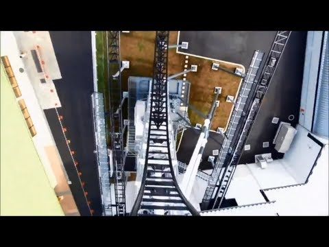 Top 5 Steepest Roller Coasters in the World (with Hd povs)