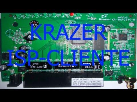 Como configurar o roteador placa PCBA Krazer WAP254G-E em modo WISP Cliente WAP254G