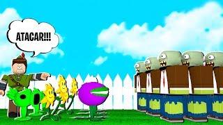 JOGUEI O NOVO PLANTS VS ZOMBIES NO MINI WORLD!!