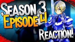 KIRITO vs GOBLINS | Sword Art Online: Alicization - Episode 4 [REACTION]