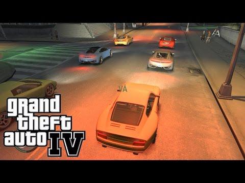 GTA IV #18 - Corrida e Carro com MOD