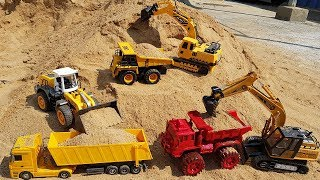 Excavator Dump Truck Construction Vehicle Toys For Children Toy Cars For Kids #3 | Vic Vic