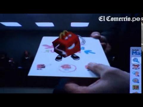 Llega al Perú la tecnología 3D sin lentes.flv