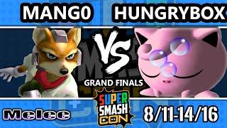 SSC 2016 SSBM - C9 Mango (Fox) Vs. Liquid` Hungrybox (Jigglypuff) - Melee Grand Finals