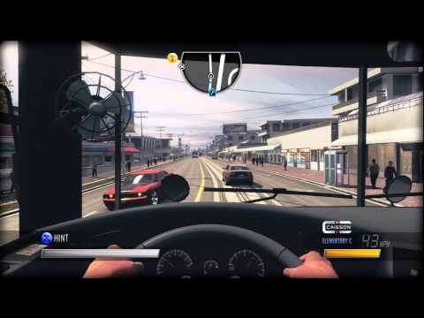 Caisson Elementary School Bus Review Test Drive On Driver San Francisco 2011