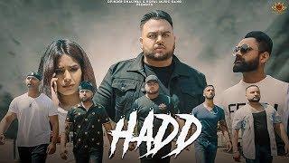 HADD  Deep Jandu Official Video Amrit Maan  Navpre