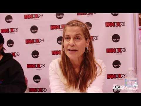 Linda Hamilton Interview at Fan Expo 2013