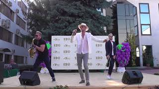 SunStroke Project концерт на заводе KVINT 120 лет Тирасполь 9 Сентября 2017 часть 1