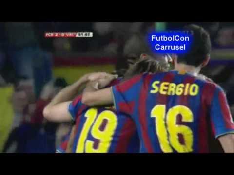 Liga BBVA 2009/2010 - J26 - FC Barcelona 3 Valencia CF 0