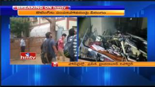 Narayana College Students Destroyed College Furniture For Outing | Nizampet | Latest Updates