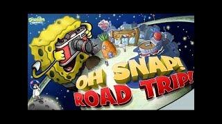 Spongebob Squarepants Oh Snap! Road Trip! - Cartoon Movie Game for Kids - Spongebob New Episodes HD