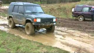 4x4 extreme Off Roading & Discovery Abuse With Some Herts 4X4 Members @ Pay & Play Day pt7