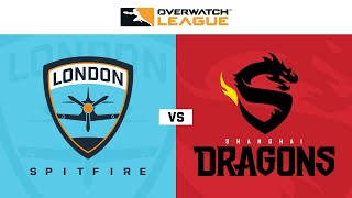 Quarter-Final C | London Spitfire vs Shanghai Dragons | Rebroadcast | May Melee APAC | Day 1